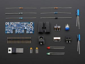 ADJUSTABLE BREADBOARD POWER SUPPLY KIT