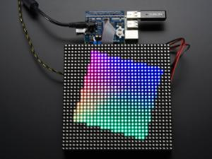 ADAFRUIT RGB MATRIX HAT + RTC